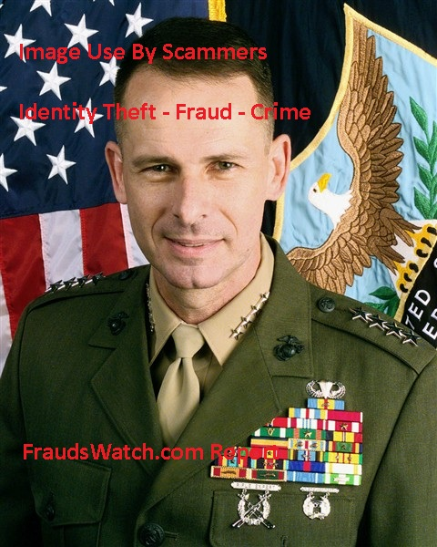Military Scammer - GEN. PETER PACE (RETIRED)