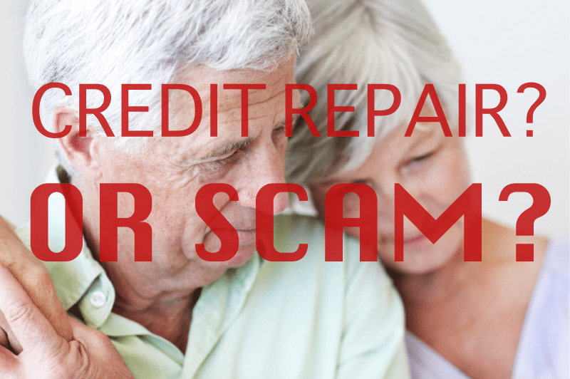 Recognize a Credit Repair Scam