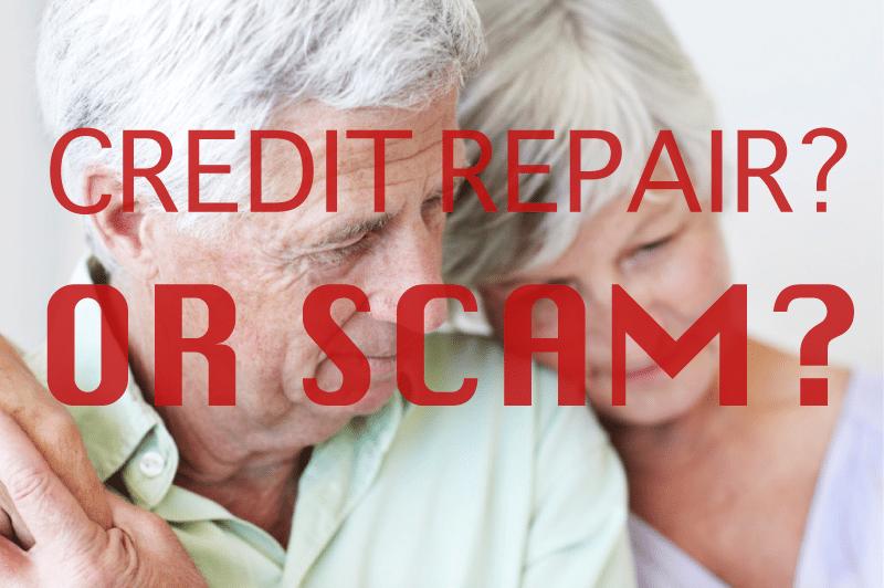 Recognize a Credit Repair Scam