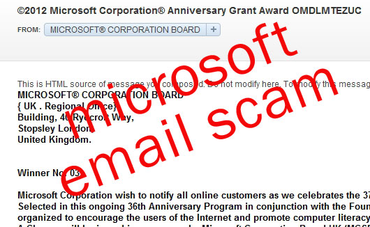 Microsoft-Email-Scam