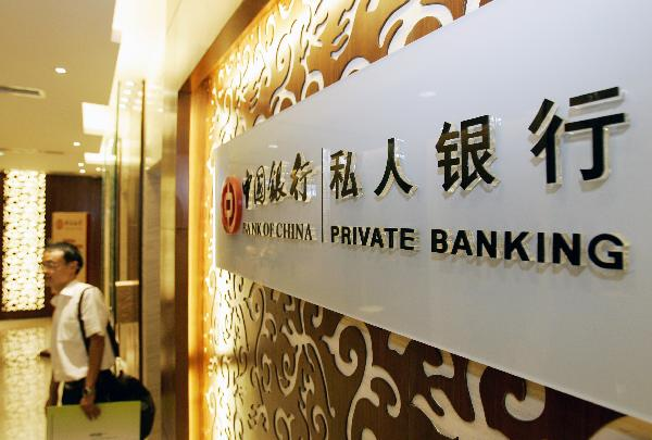 Private Banking Services at the Bank of China