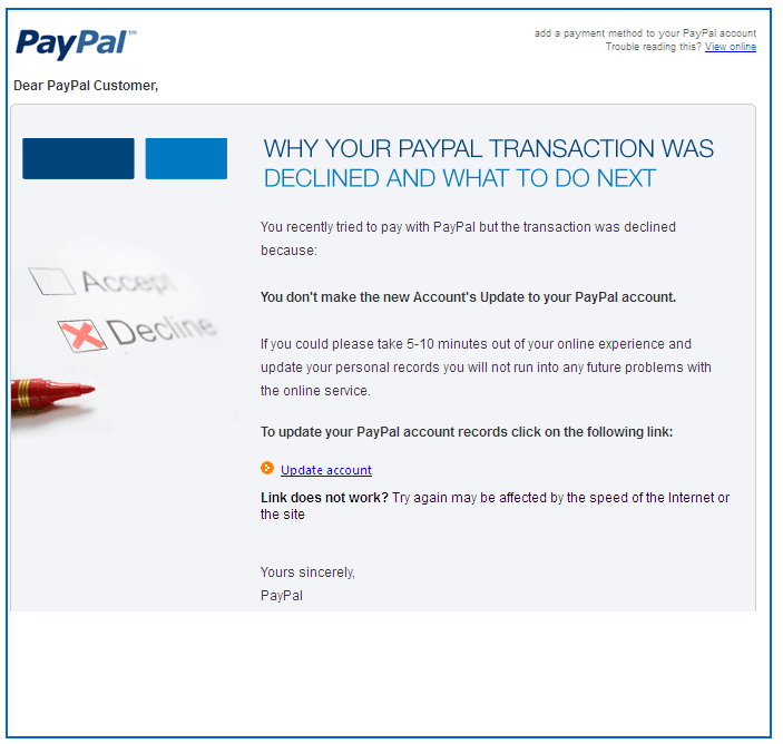 PayPal Email Scam-2