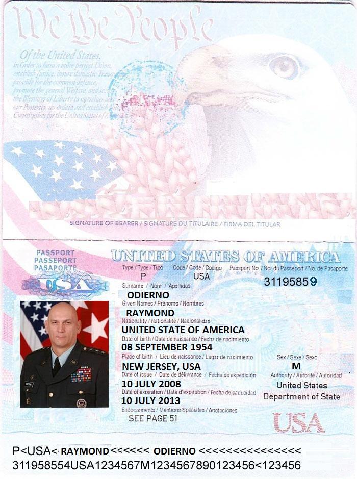 Gen. Raymond T. Odierno Doc Fake