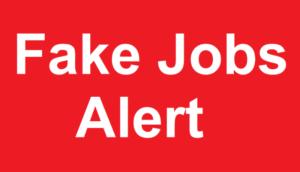 Fake Internship Or Job Ads Online