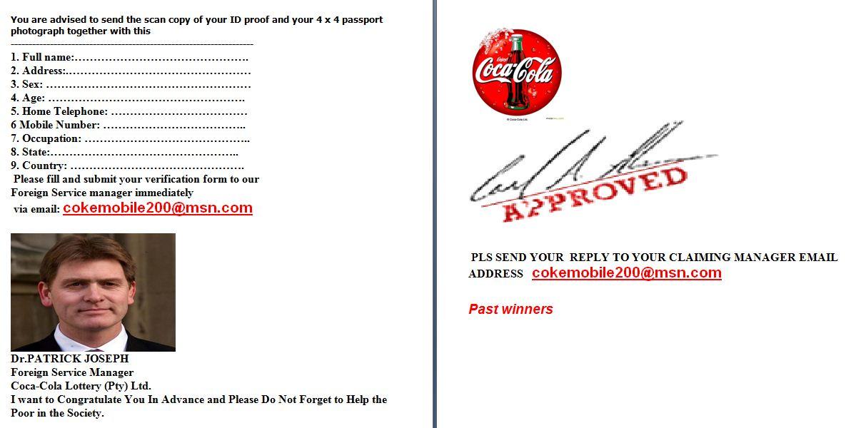 COCA-COLA Promotion