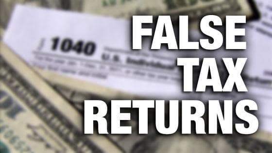 False Tax Return