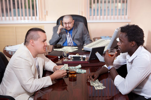 Insurance Fraud, Gambling and Extortion Offenses -2
