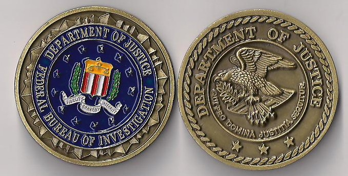 FBI and Department of Justice