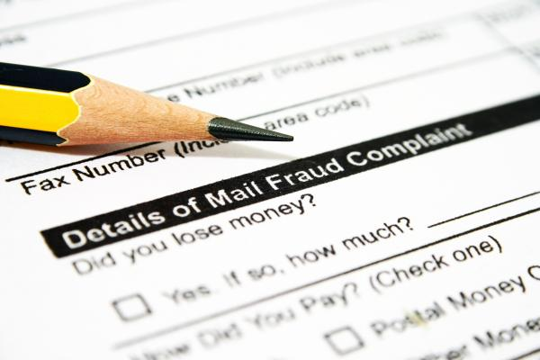 Mail Fraud and Money Laundering Charges
