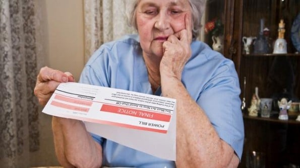 Elderly Scammed