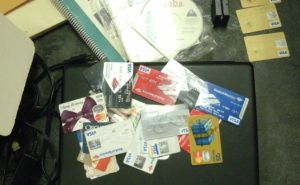 Sentenced for Credit Card Fraud