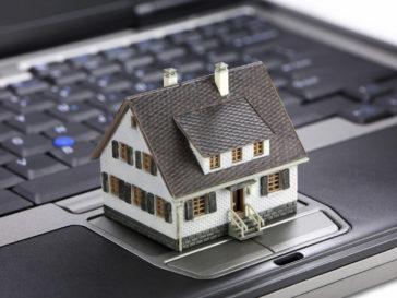 Online real estate concept